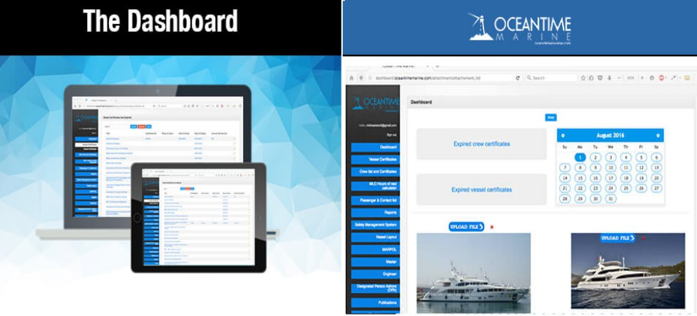 Press Release Launch Of The Dashboard Vessel Management