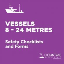 Safety Checklists for Vessels 8 - 24M