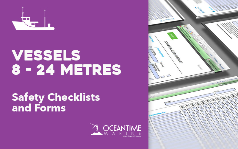 Vessel Checklists for Vessels less 8-24 metres