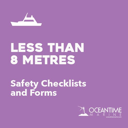 Safety Checklists for Vessels < 8M