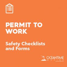 Vessel Checklists Permit To Work Forms