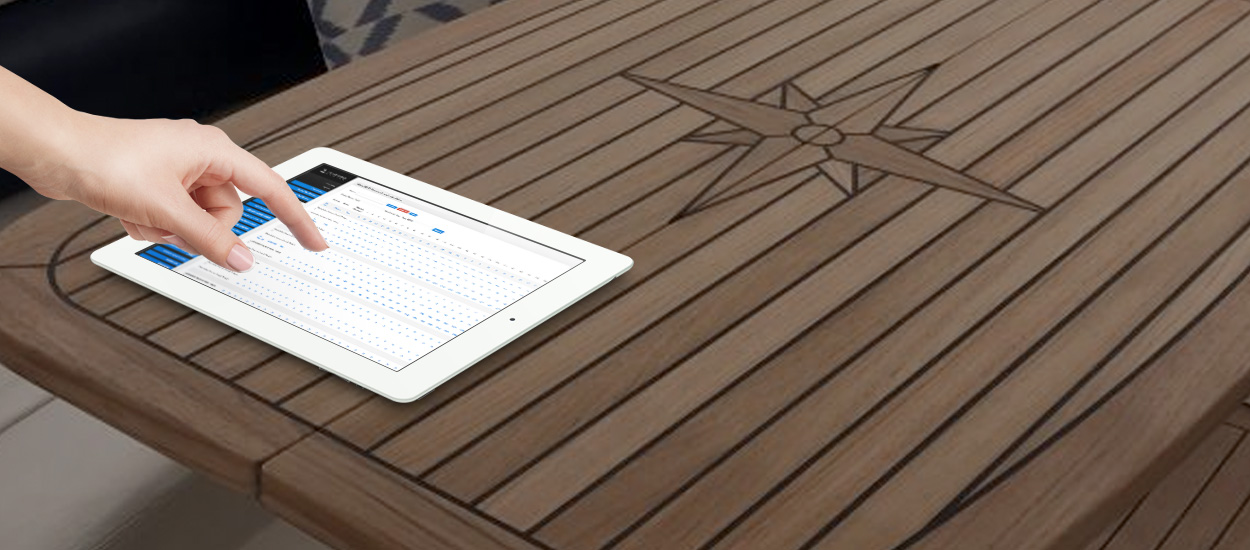 the dashboard vessel management software ocean time marine. Black Bedroom Furniture Sets. Home Design Ideas
