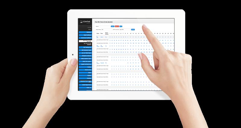 Dashboard Vessel Management Software